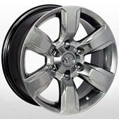 Автомобильный колесный диск R17 6*139,7 ZW-D6045 HB (Toyota) - W7.5 Et25 D106.2