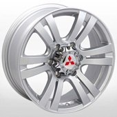 Автомобильный колесный диск R17 6*139,7 ZW-D6048 S (Mitsubishi) - W7.0 Et36 D67.1