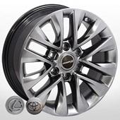 Автомобильный колесный диск R18 6*139,7 LX-6073 HB (Lexus, Toyota) - W7.5 Et25 D106.2
