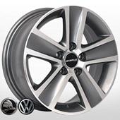 Автомобильный колесный диск R14 5*100 ZY-461 EP (VW, Skoda) - W6.0 Et43 D57.1