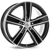 Автомобильный колесный диск R16 5*120 TH GlossBlack Polished - W6.5 Et55 D65.1