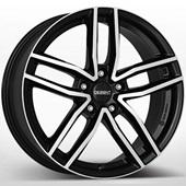 Автомобильный колесный диск R16 5*112 TR Black Polished - W6.5 Et48 D70.1