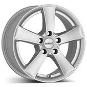 Автомобильный колесный диск R15 4*108 TX Silver - W5.5 Et15 D65.1