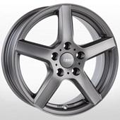 Автомобильный колесный диск R15 4*100 TY Graphite - W5.5 Et45 D60.1