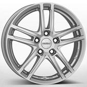 Автомобильный колесный диск R15 4*108 TZ Silver - W6 Et45 D63.4
