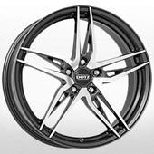 Автомобильный колесный диск R17 5*112 Interlagos Black Polished - W7.5 Et51 D57.1
