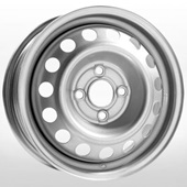 Автомобильный колесный диск R14 4*108 Eurodisk-53C45D Silver - W5.5 Et45 D57.1