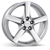 Автомобильный колесный диск R17 5*100 H Silver - W7 Et38 D60.1