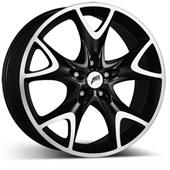 Автомобильный колесный диск R18 5*112 Phoenix dark MtBP - W8.5 Et45 D70.1