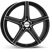 Автомобильный колесный диск R16 5*108 RN dark BP - W7 Et37 D70.1
