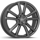 Автомобильный колесный диск R17 5*112 Tioga Graphite - W7 Et40 D57.1