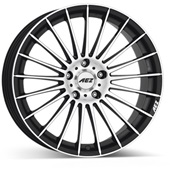 Автомобильный колесный диск R17 5*112 Valencia dark BP - W8 Et35 D70.1