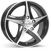 Автомобильный колесный диск R16 5*100 101 dark BP - W7 Et35 D60.1