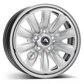 Автомобильный колесный диск R16 5*114,3 Hybridrad-130403 Silver - W6.5 Et40 D66.1