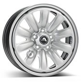 Автомобильный колесный диск R16 5*108 Hybridrad-130600 Silver - W6.5 Et50 D63.4