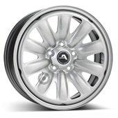 Автомобильный колесный диск R17 5*112 Hybridrad-132800 Silver - W6.5 Et38 D57.1