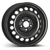 Автомобильный колесный диск R15 4*108 Alcar-4095 Black - W6 Et45 D63.4