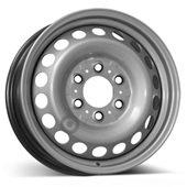 Автомобильный колесный диск R16 6*130 Alcar-6131 Silver - W6.5 Et54 D84.1
