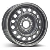 Автомобильный колесный диск R14 4*100 Alcar-6530 Black - W5.5 Et36 D60.1