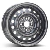 Автомобильный колесный диск R14 4*100 Alcar-7010 Black - W5.5 Et45 D54.1