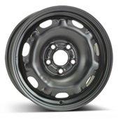 Автомобильный колесный диск R14 5*100 Alcar-7250 Black - W6 Et37 D57.1