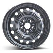Автомобильный колесный диск R16 5*114,3 Alcar-7625 (Toyota) Black - W6.5 Et39 D60.1