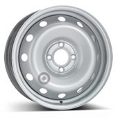 Автомобильный колесный диск R15 4*100 Alcar-7635 Silver - W6 Et50 D60.1