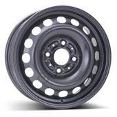 Автомобильный колесный диск R15 4*114,3 Alcar-7960 Black - W6 Et46 D67.1