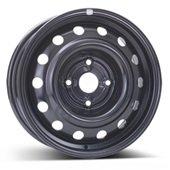 Автомобильный колесный диск R15 4*114,3 Alcar-7985 Black - W6 Et44 D56.6