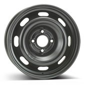 Автомобильный колесный диск R15 4*108 Alcar-8055 Black - W6 Et23 D65.1