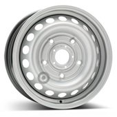 Автомобильный колесный диск R15 5*160 Alcar-8337 (Transit 2013-) Silver - W6.5 Et60 D65.1