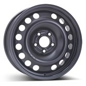 Автомобильный колесный диск R16 5*110 Alcar-9045 Black - W6.5 Et37 D65.1