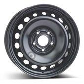 Автомобильный колесный диск R16 5*114,3 Alcar-9563 Black - W6.5 Et47 D66.1