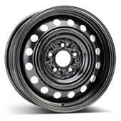 Автомобильный колесный диск R16 5*114,3 Alcar-9657 Black - W6.5 Et38 D67.1