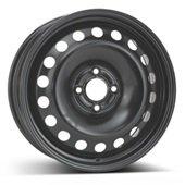 Автомобильный колесный диск R16 4*100 Alcar-9985 Black - W6.5 Et49 D60.1