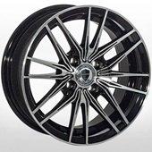 Автомобильный колесный диск R14 4*100 ALLANTE-1052 BF - W6.0 Et38 D67.1