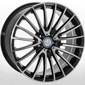 Автомобильный колесный диск R20 5*112 ALLANTE-1073 BF (Mercedes) - W9.0 Et48 D66.6