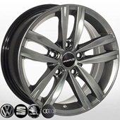 Автомобильный колесный диск R15 5*100 ALLANTE-5037 HB (Audi, Skoda, VW) - W6.5 Et35 D57.1