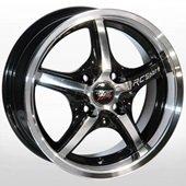 Автомобильный колесный диск R14 4*100 ALLANTE-507 BF - W6 Et25 D67.1
