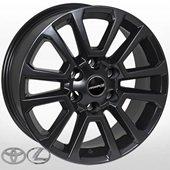 Автомобильный колесный диск R18 6*139,7 ALLANTE-T642 DB (Toyota, Lexus) - W7.5 Et25 D106.1