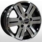 Автомобильный колесный диск R15 5*130 MB-562 BP (Mercedes, VW) - W7.0 Et50 D84.1