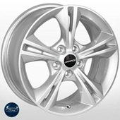 Автомобильный колесный диск R16 5*108 FD-1805 S (Ford) - W7.0 Et50 D63.4
