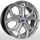 Автомобильный колесный диск R15 5*108 FD-1812 HS (Ford) - W6 Et52 D63.4