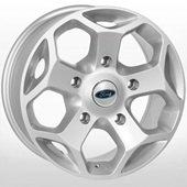 Автомобильный колесный диск R16 5*160 FD-1813 S (Ford) - W7.0 Et50 D65.1