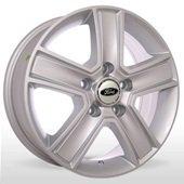 Автомобильный колесный диск R15 5*160 FD-1815 S (Ford) - W6.5 Et60 D65.1