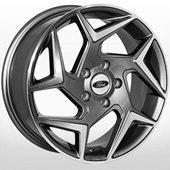 Автомобильный колесный диск R16 5*108 FD-1818 MGRA (Ford) - W6.5 Et50 D63.4