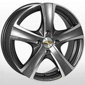 Автомобильный колесный диск R15 4*100 GM-9008 MK-P (Chevrolet) - W6.0 Et44 D56.6