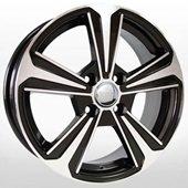 Автомобильный колесный диск R15 4*100 HND256 BKF (Hyundai, Kia) - W6.0 Et46 D54.1
