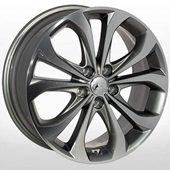 Автомобильный колесный диск R18 5*114,3 HY-2413 GMF - W7.5 Et48 D67.1