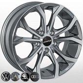 Автомобильный колесный диск R16 5*112 A-00161 GP - W7.0 Et35 D66.6